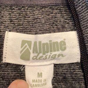 Alpine Design Tops - Alpine Design gray pullover medium